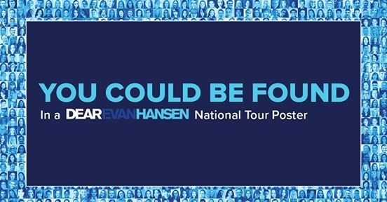 Dear Evan Hansen Poster Promotion