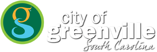 City of Greenville logo, and navigation to return to city home page